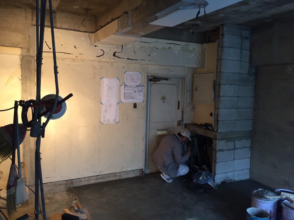 青山ビル内装工事
