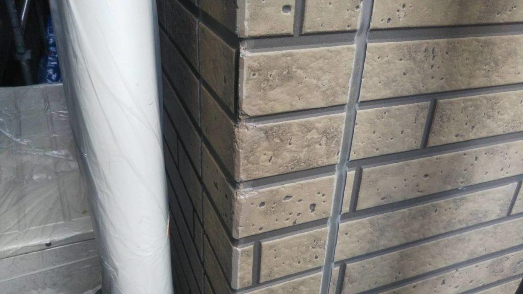 外壁のタッチアップ色補修