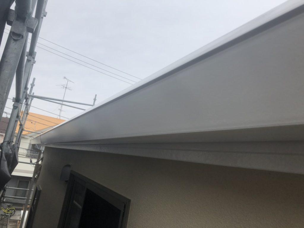屋根葺き替え工事と完了工事